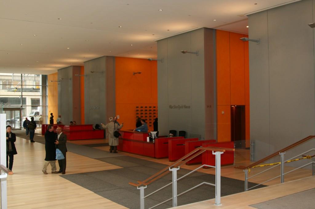 Lobby zona ascensores