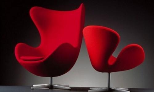 Swan y Egg Chair (el diseño más relevante del S.XX)